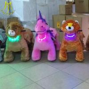 China Hansel   hot selling electric plush animal dog rides Guangzhou factory on sale