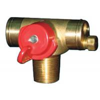 Wholesale brass gas valve QF-T3 from china suppliers