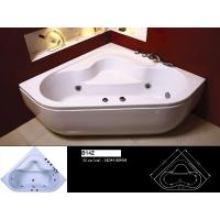 China Built - in Installation 100% Resin Acryl and ABS Massage Resin Bathtub 130 * 130 * 60 cm on sale