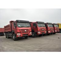 Wholesale RED Color 371HP 10 Wheeler Dump Truck SINOTRUK HOWO With 12.00R20 Tire from china suppliers