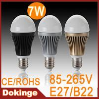 Wholesale 2013 hot sell 7W 700lm Pure white Australian standard dimmable LED Bulb light from china suppliers
