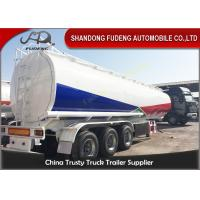 Wholesale 45000L Fuel tanker semi trailer with BPW axle , used fuel tanker truck trailer from china suppliers