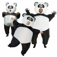 Wholesale Inflatable Panda Costumes Halloween Party Suit Fat Blow Up Balloon Adult Funny from china suppliers