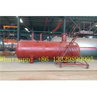 Wholesale bullet type stationary underground LPG gas storage tanks for sale, hot sale best price buried propane gas storage tank from china suppliers