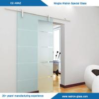 Buy cheap Stainless Steel Frameless Sliding Glass Door System from wholesalers