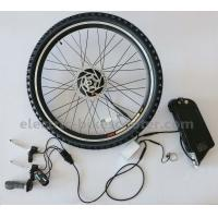 25Km / H Electric Bike Conversion Kits 36V 7.8Ah Lithium Battery With Waterproof Cables