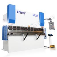 China Hydraulic shop press brake with DA-41S, WC67K-40T/2200 brake press tooling suppliers on sale