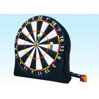 Wholesale Indoor Playground Inflatable Dart Board Sports Games , Inflatable Garden Toys For Toddlers from china suppliers