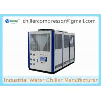 Wholesale -10C Low Temperature Scroll Type Air Cooled Glycol Chiller for Horizontal Mixer from china suppliers
