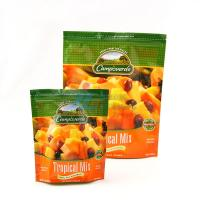 Buy cheap Stand Up Food Packaging Plastic Bags with zipper , frozen fruit bag from Wholesalers