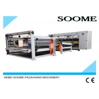 Wholesale 160 PCS / Min Computerized Slitter Scorer Maccardboard Slitting Machine With Stacker And Paper Collection from china suppliers