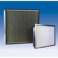 Wholesale Portable HEPA Air Filter Metal Frame Fiberglass Paper Aluminum Separator from china suppliers