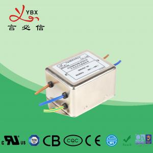 Wholesale Yanbixin SMPS AC Single Phase RFI Filter Rated Current 1A-10A Stable Performance from china suppliers