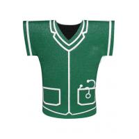 Wholesale Personalized Green 3mm Neoprene stubby Shirt Shape Can Beer Bottle Coolers from china suppliers