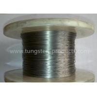 China ASTM Standard Ground Finish Pure Tungsten Wire Wolfram Wire 0.01mm - 3.0mm on sale