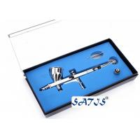 Wholesale New Dual Action Airbrush and Spray Gun for Makeup Nail Art Tattoos Body Cake Toy Models from china suppliers