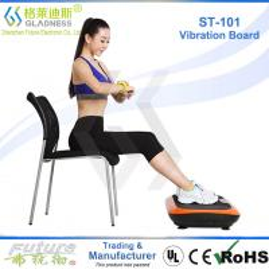 China Gladness Full Body Vibration Platform Fitness Massage Machine Exercise Vibration Trainer on sale