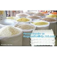 Wholesale 25kg 50kg white recycled agriculture pp woven bag bopp laminated pp woven bags china manufacturers,,flour,rice,fertilize from china suppliers