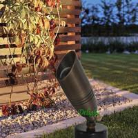 Brass Outdoor Led spot light, led path lighting, 12V Led landscape ligthing (DL-LL059)