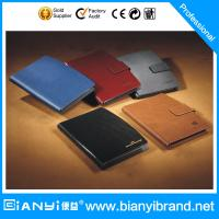 Wholesale China Good Quality Leather Loose Leaf Notebook,Year Planner from china suppliers