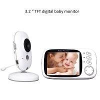 3.2 inch Color Wireless Video Baby Monitor 2 Way Talk Night Vision