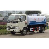 China Dongfeng vacuum sewer tank truck 3000L~5000L sewage suction 3ton vacuum truck on sale