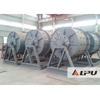 China Intermittent Cement Ball Mill With Manganese Steel Rubber Ceramic Liner on sale