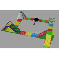 Wholesale Inflatable Water Park WP50 with inflatable runway and iceberg from china suppliers