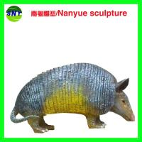 Wholesale home deco artificial resin statue China protected animal pangolin props as decoration statue from china suppliers