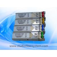 10KM dual broadcast 3G SDI Video SFP Optical Transceiver module for dual 1310nm wavelength over dual LC fiber