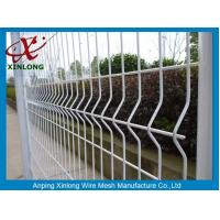 Wholesale Waterproof Galvanized Wire Fence Panels , Wire Mesh Security Fencing from china suppliers