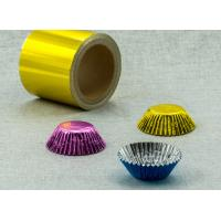 Quality 8011 46-50mic gold aluminium foil chocolate coins for sale