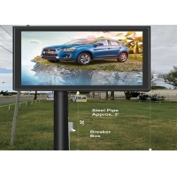 Buy cheap SMD3528 Great Waterproof P8 P10 Outdoor Full Color Led Billboard Advertising from wholesalers