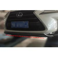 ABS Car Bumper Protector for LEXUS NX300 2015 Front and Rear Lower Garnish