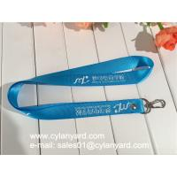 Blue Nylon lanyard for ID badge holder