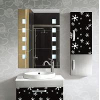 Rectangular frameless bathroom mirror decorative wall for Decorative wall mirrors for bathrooms