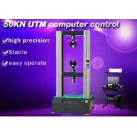Wholesale 5 Ton UTM Electronic Universal Testing Machine 50KN Computer Servo Control from china suppliers