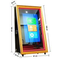China Portable Amusing Wedding Mirror Photo Booth For Sale on sale
