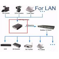 Quality High Definition Digital TV Encoder Wireless HDMI Input With LAN / WAN Transmittion for sale