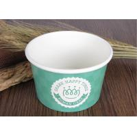 Wholesale Single Wall Branded Ice Cream Cups Disposable With Eco Freindly Materials from china suppliers