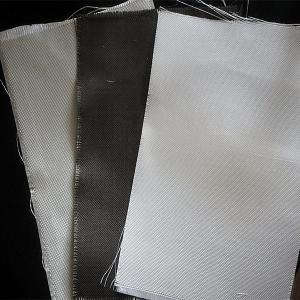 Wholesale Dust / Air / Powder Filtration Filter Press Cloth 360gsm E Glass Non Alkali Graphite Fiberglass Cloth from china suppliers