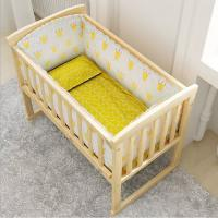 Buy cheap Factory directly bedroom furniture baby bed children crib bedding set from wholesalers