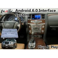 Wholesale Android 6.0 Video Interface GPS Navigation for 2012-2017 Nissan Patrol from china suppliers