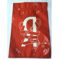 Wholesale Metal Mylar Ziplock Red Aluminum Foil Ziplock Bags 3 Side Sealing Eco Friendly from china suppliers