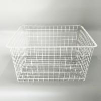 Wholesale Lilladisplay-Large Square Metal Wire Storage Baskets For Slatwall 22503 from china suppliers