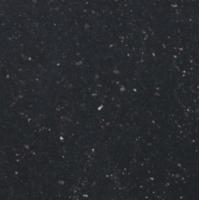Quality Black Galaxy granite table tops , polished natural granite stone for sale