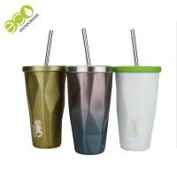 Wholesale Classic Tumbler Coffee Mug / Personalized Tumbler Cups With Lids And Straws from china suppliers