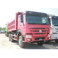 Wholesale Heavy Sinotruk Howo 6x4 Dump Truck , Euro 2 Emission 10 Wheeler Dump Truck from china suppliers
