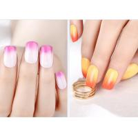 Wholesale Multi Color MSDS GMP Mood Changing Gel Nail Polish Environment - Friendly from china suppliers