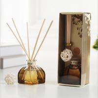 Wholesale Decorative Home Reed Diffuser Natural Essential Oil Aroma Glass Bottle Reed Diffuser from china suppliers